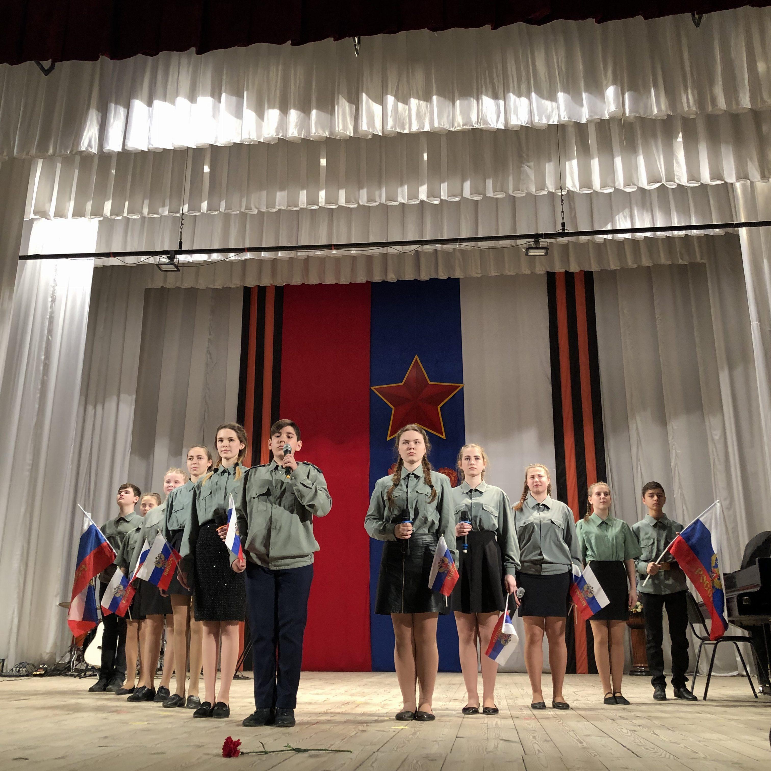 Пели о победе и любви к Родине