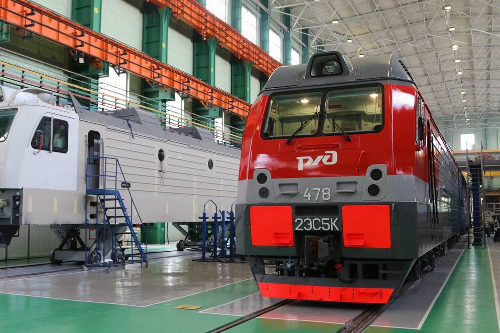 Донское предприятие построит 23 электровоза и 89 локомотивов