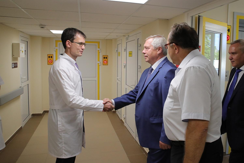 Обновленный терапевтический корпус примет пациентов