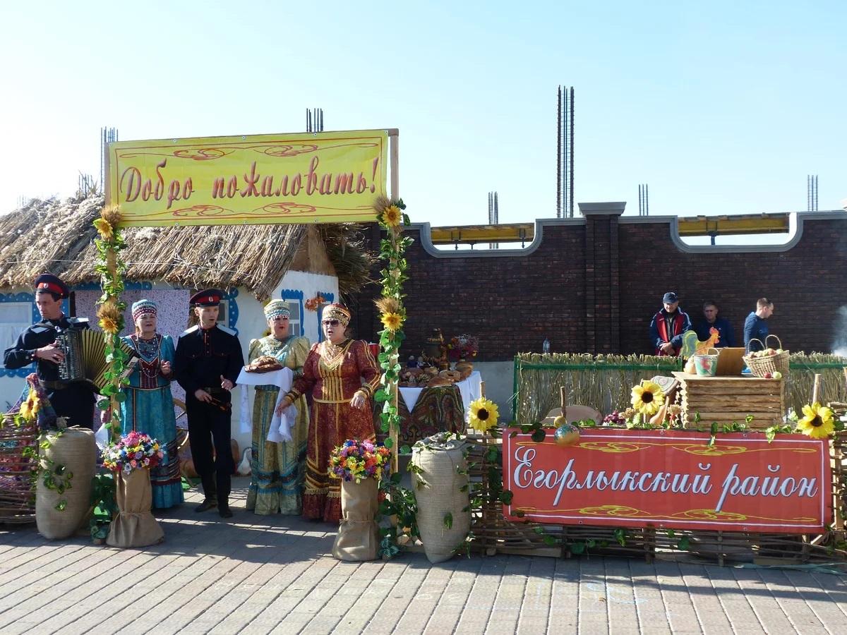 На главной ярмарке Дона был и Егорлыкский район
