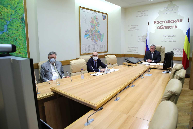 Губернатор Ростовской области предложил поддержать предприятия, выполняющие госзаказ
