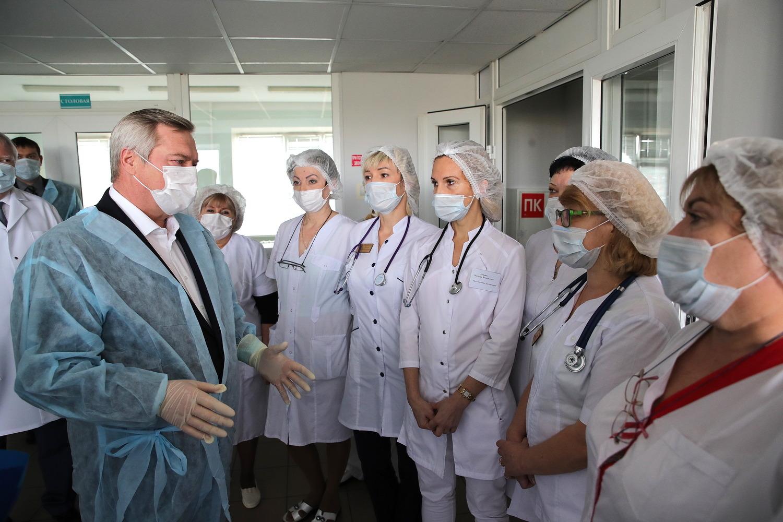 Донские медики, работающие с COVID-19, будут обеспечены питанием за счет бюджета