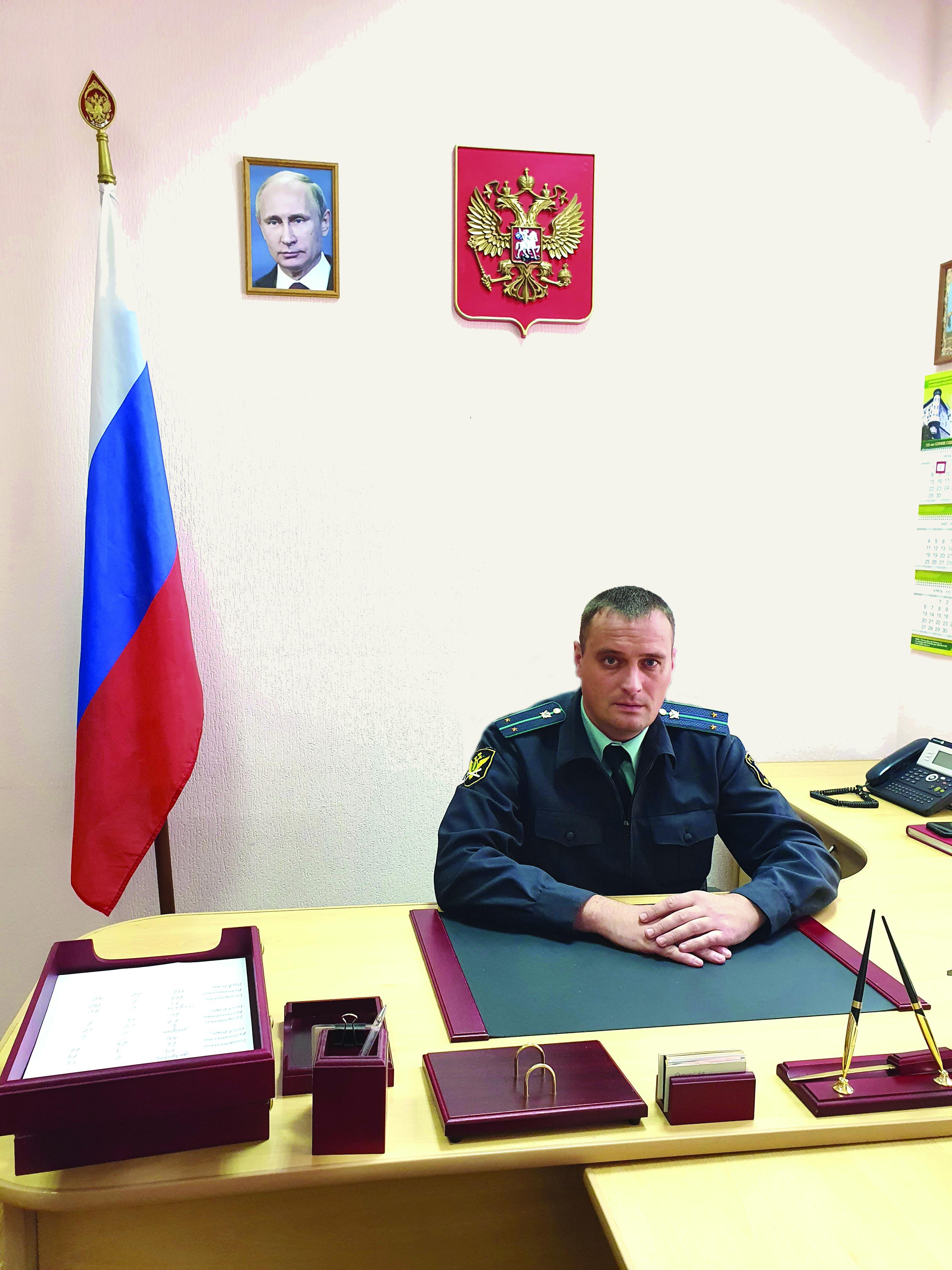 Назначен начальник  Егорлыкского районного отделения судебных приставов