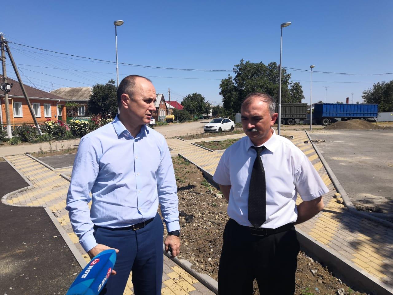 В нашем районе — с визитом  заместитель Губернатора РО