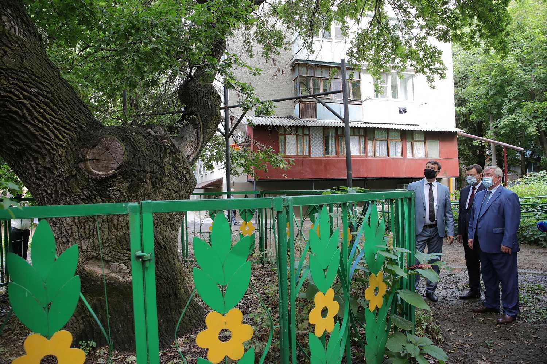Губернатор предложил привести в порядок таганрогскую рощу «Дубки»