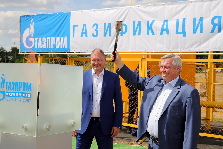 Уровень газификации Ростовской области достиг почти 88,5 процента