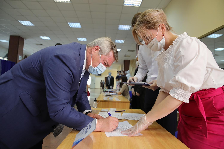 Василий Голубев выдвинут кандидатом в губернаторы от «Единой России»