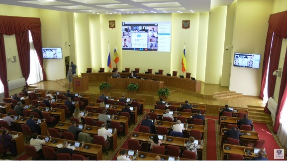 Инициатива Губернатора по поддержке бизнеса поддержана депутатами заксобрания