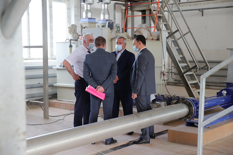 Строится новый комплекс водоснабжения