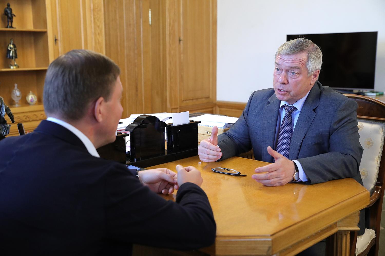 Обсудили вопросы развития Ростовской области