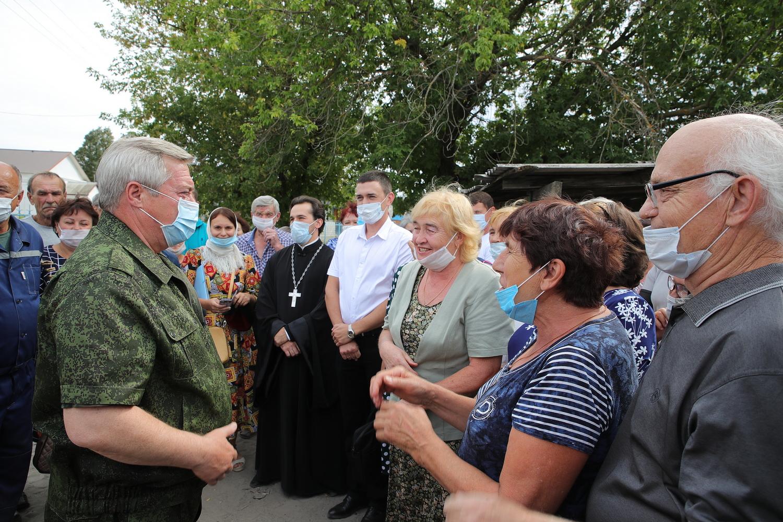 Василий Голубев: «Все люди, которые потеряли в пожарах жилье, должны его получить»