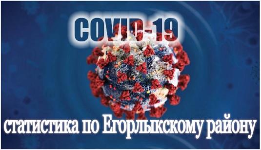 Статистика по коронавирусу на 29 октября в Егорлыкском районе