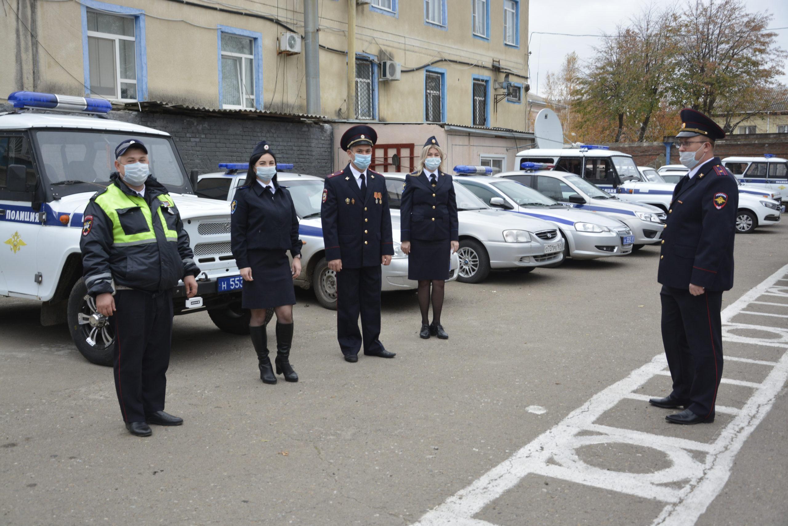 Сотрудники полиции — на страже порядка в Егорлыкском районе