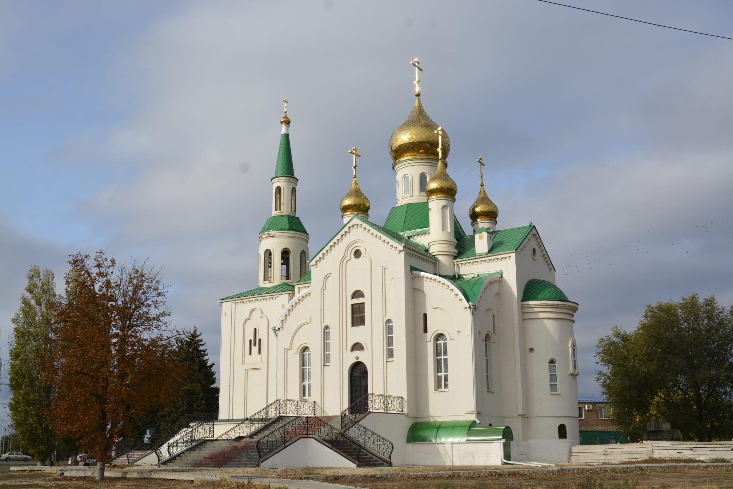 Егорлыкскому Храму требуются пожертвования на строительство