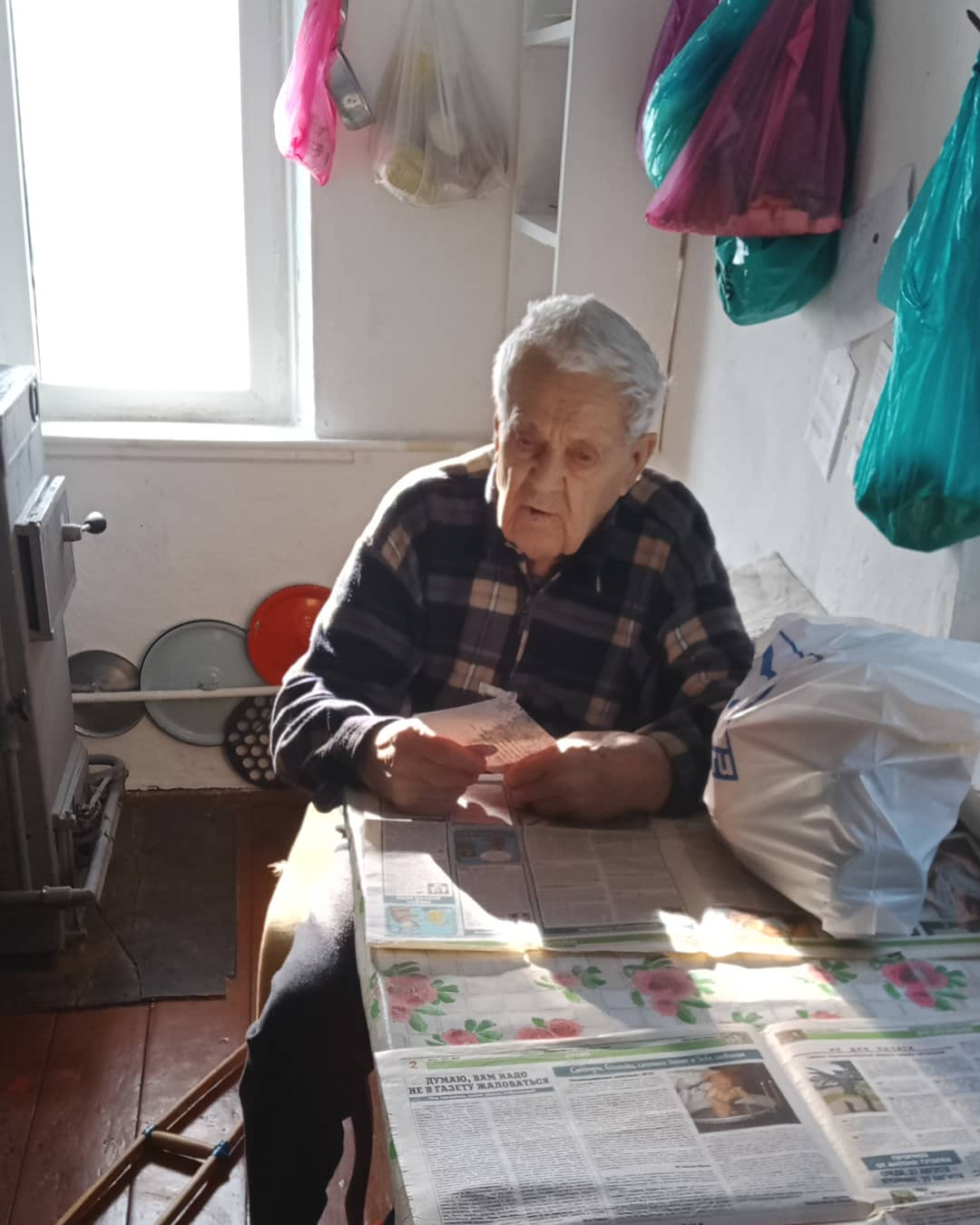 В Егорлыкском районе, как и во всем регионе, участники ВОВ получают подарки к Новому году