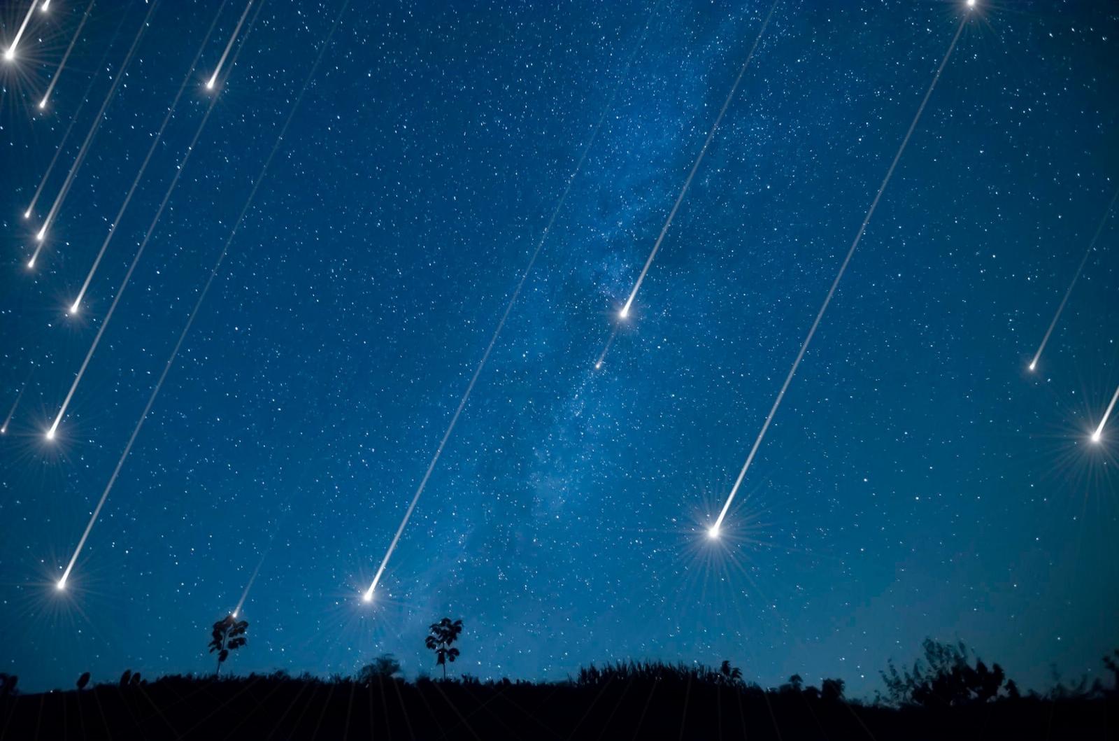 Россияне в новогодние каникулы смогут наблюдать звездопад