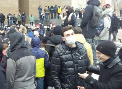 Игры в политику: в Ростове завершилась акция в поддержку Навального