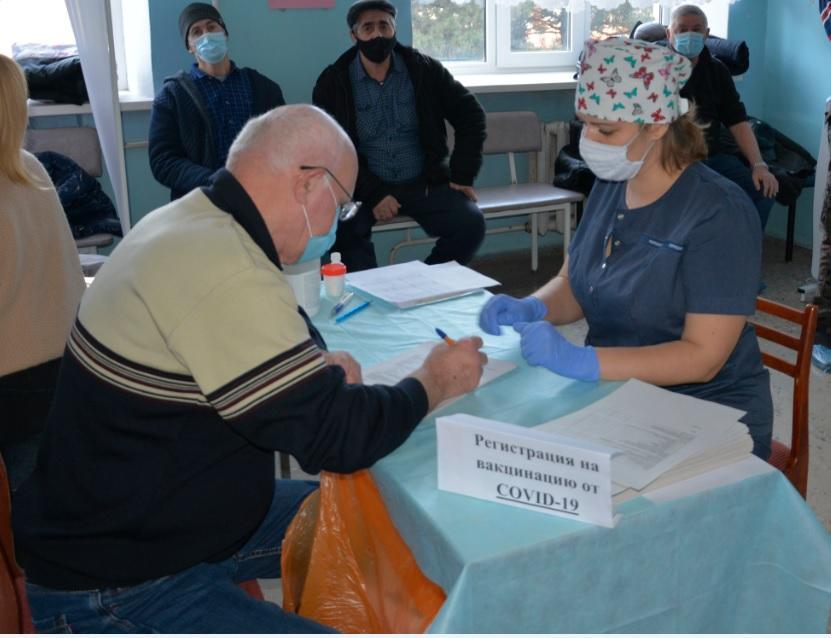 В Егорлыкском районе начата вакцинация от коронавируса