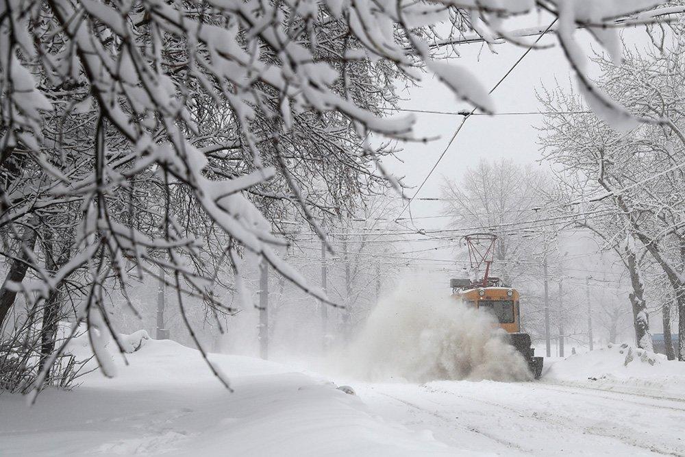 В Ростовской области возможен очень сильный снегопад
