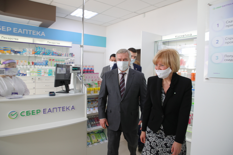 Открылась первая СБЕР ЕАПТЕКА в донском регионе