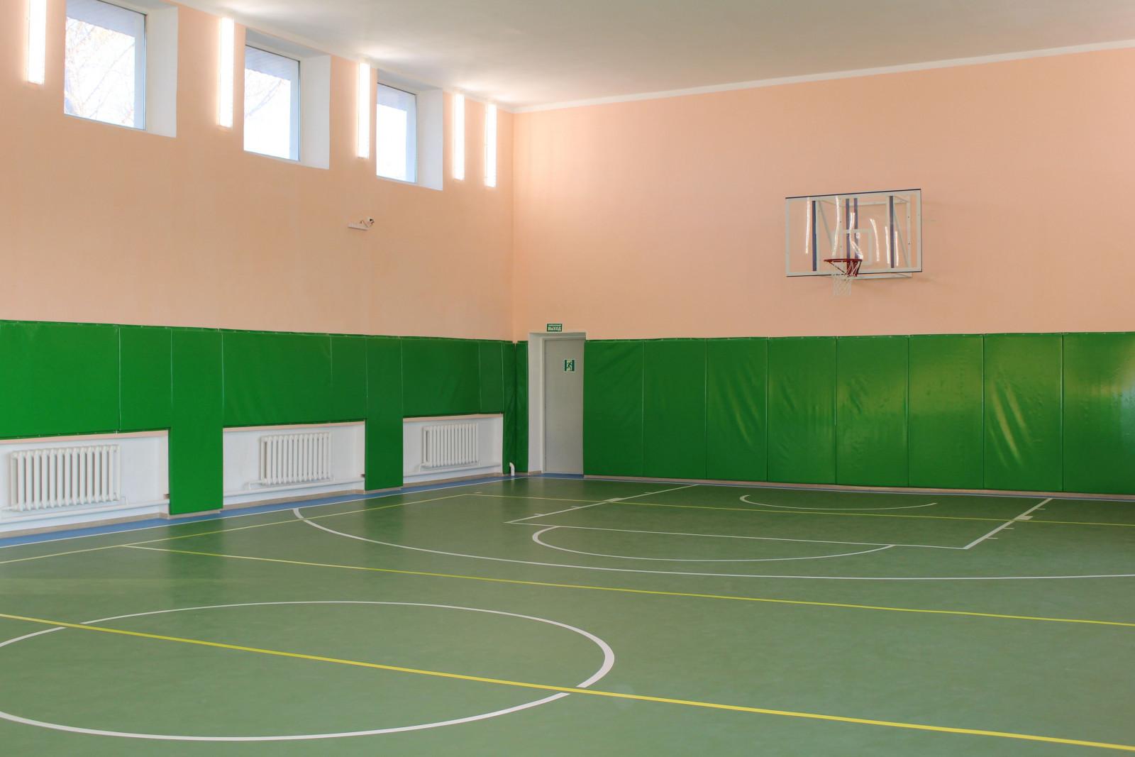 Ремонт спортзалов в школах Ростовской области продолжат