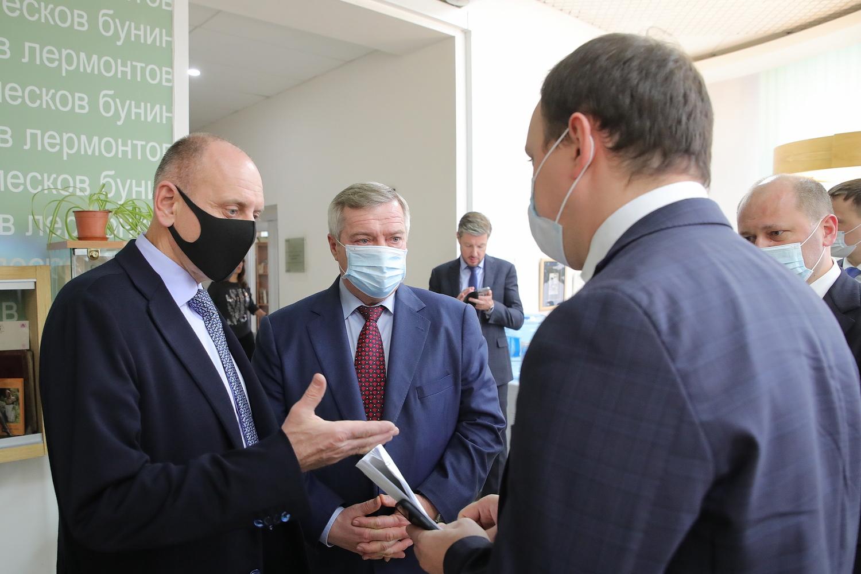 Как в Ростовской области будут обновлять город Таганрог?
