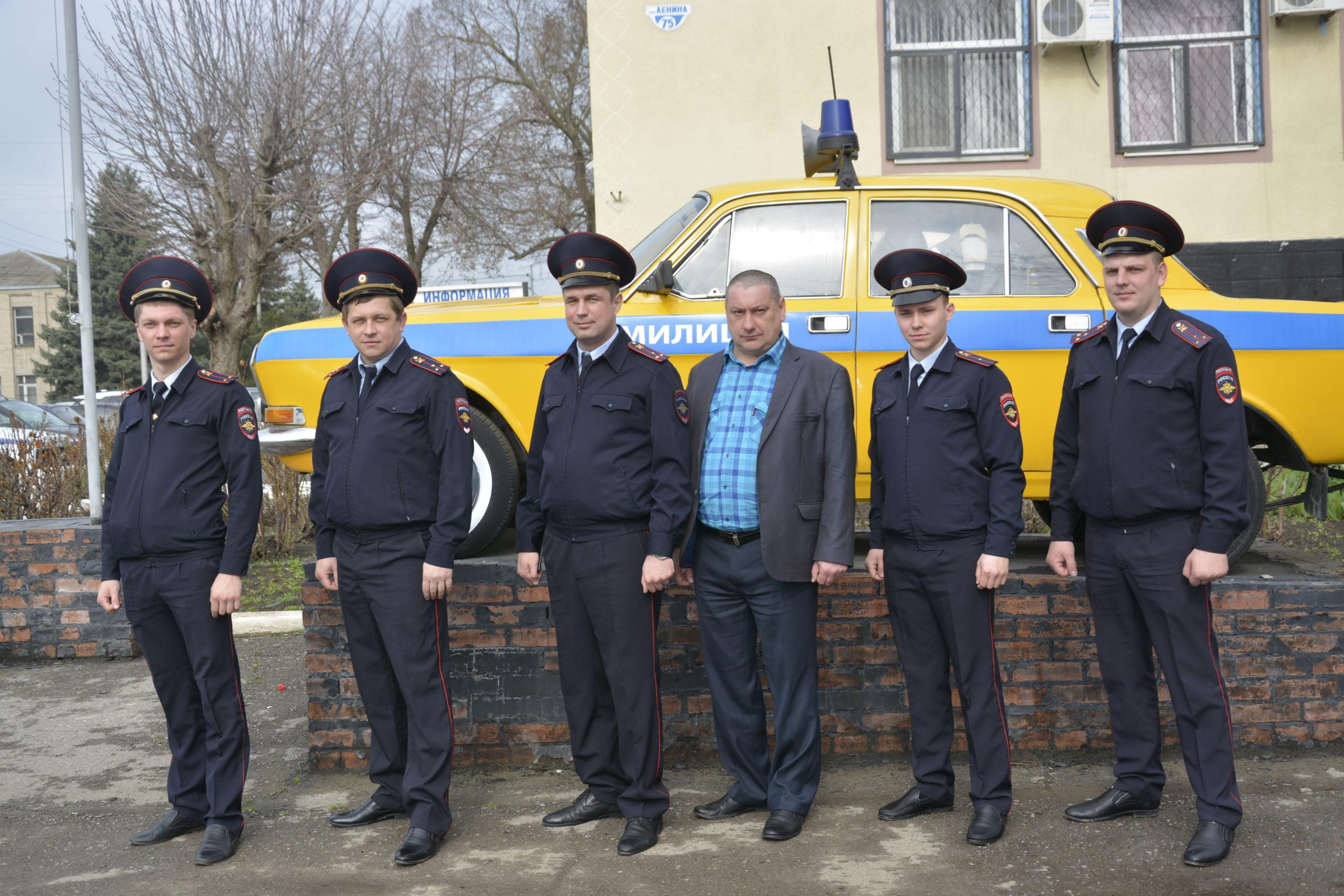 Два праздника у егорлыкских полицейских