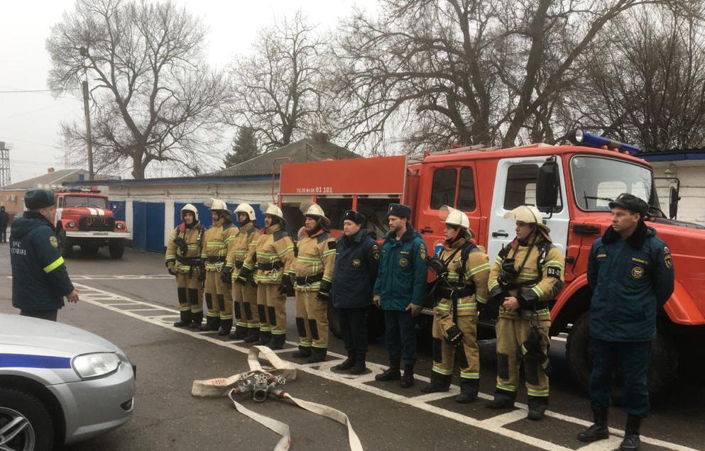 Пожарные – всегда на посту