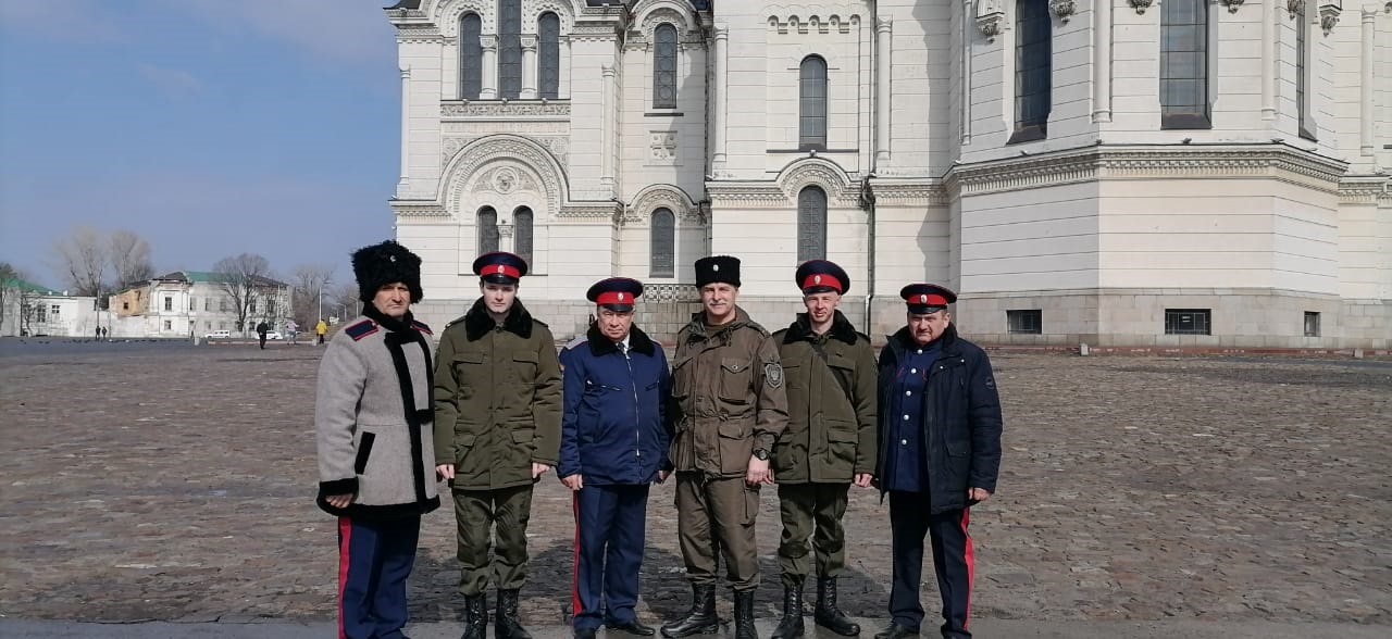 Егорлыкские казаки – на Параде Победы