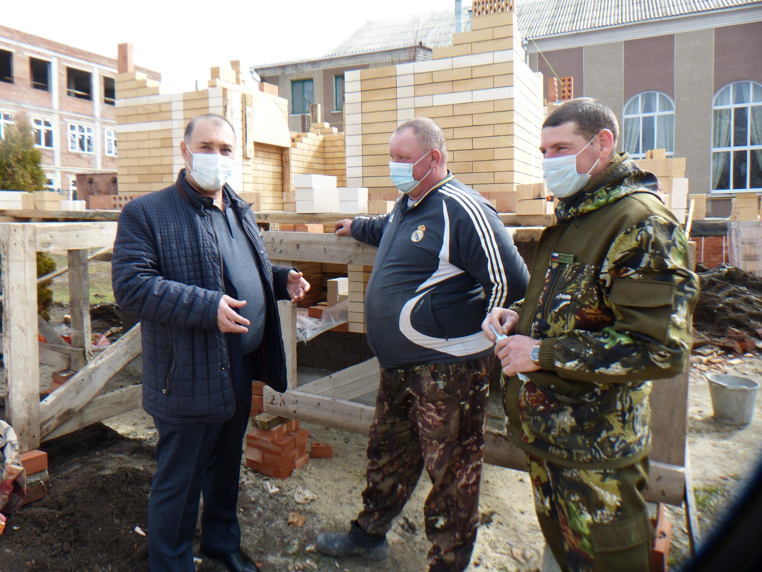 Поселок Роговский благоустраивается