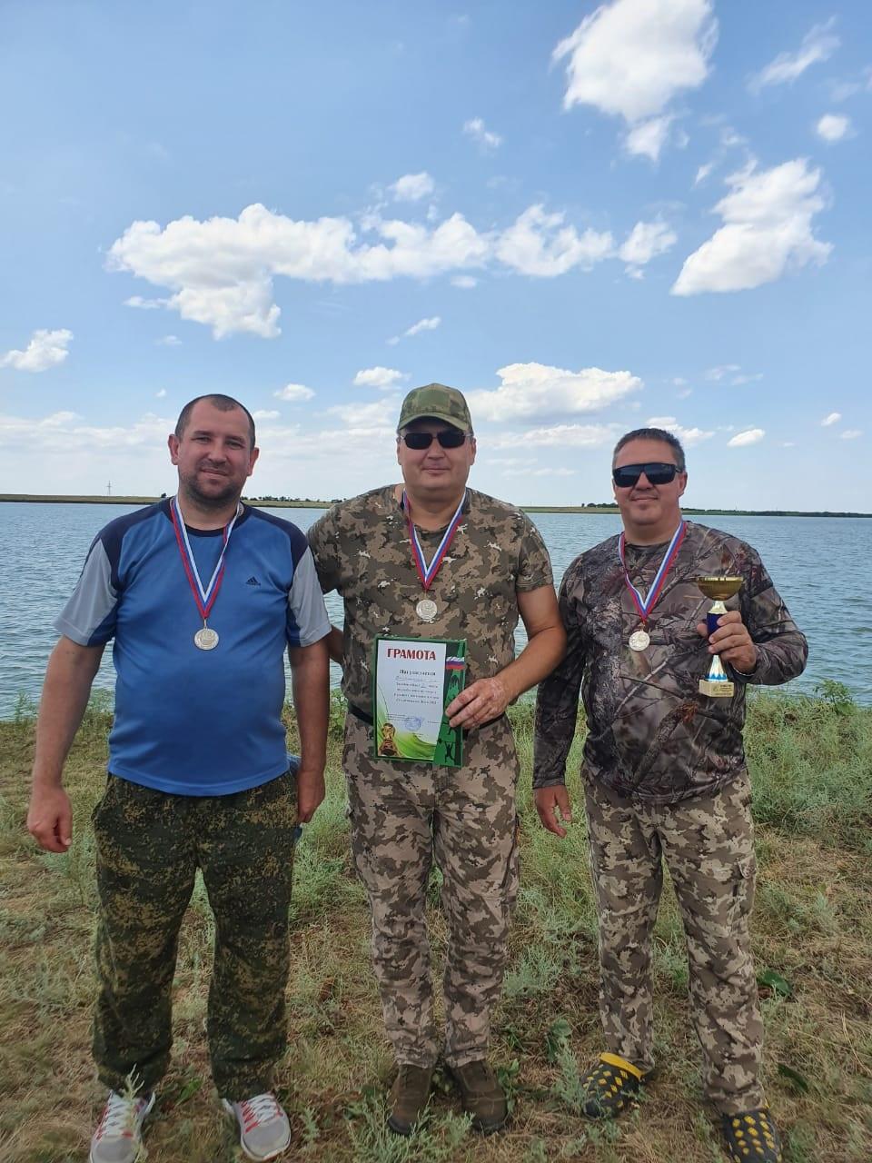 Удачная рыбалка в Егорлыкском районе
