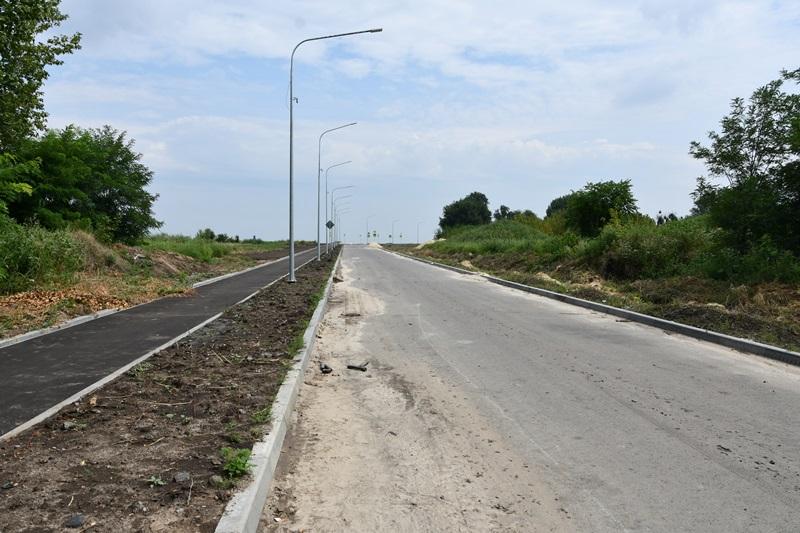 Завершается строительство Северного выезда из Аксая